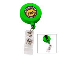 716202458-817 - the Essentials Retractable Badge Holder - Green - thumbnail
