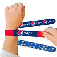 935258635-139 - Pantone Matched Silicone Slap Bracelets - thumbnail